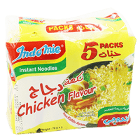 INDOMIE NOODLES CHICKEN 70GMX5PC